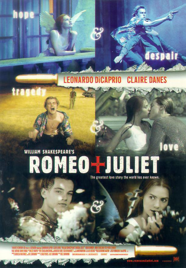 romeo and juliet play vs 1996 Romeo and juliet is a 1968 british-italian romantic drama film based on the play of the same name by william shakespeare the film was directed and co-writte.