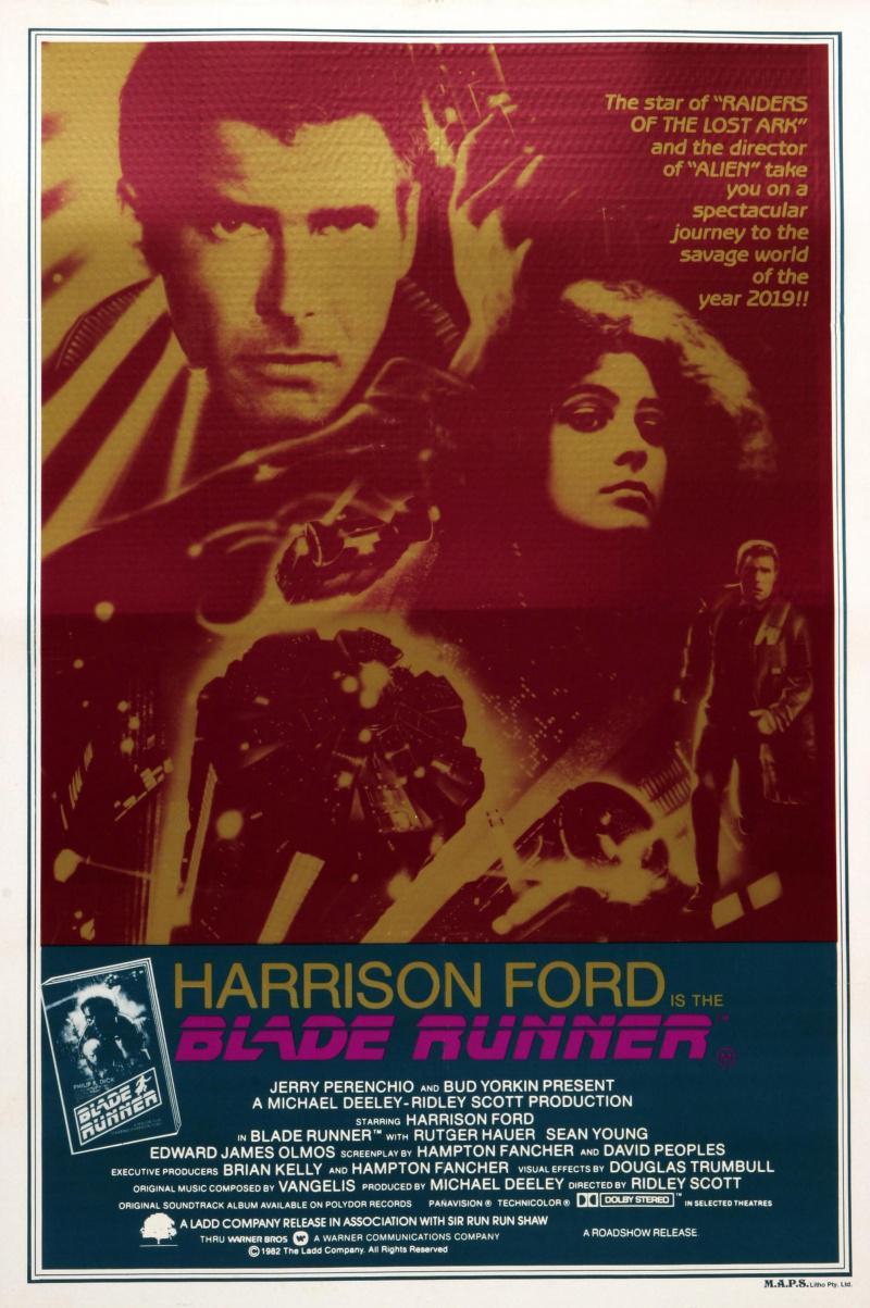 Blade runner 1982 movie poster