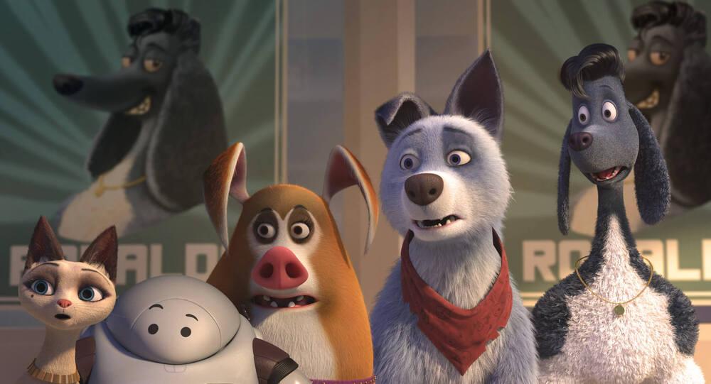 Кадр фильма Союз зверей: Спасение двуногих