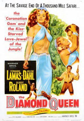 Постер фильма Алмазная королева