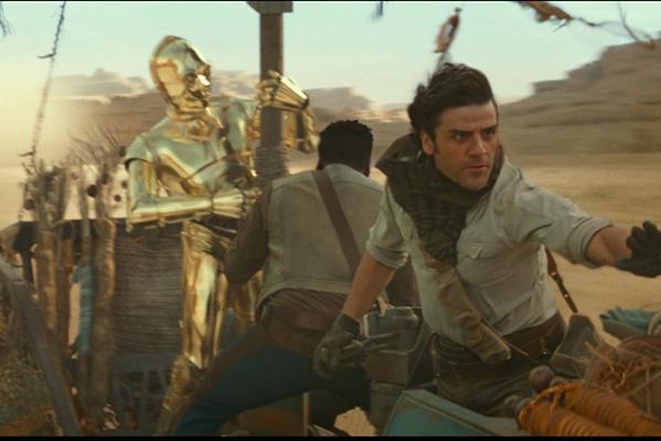 Кадр фильма Звёздные Войны: Скайуокер. Восход