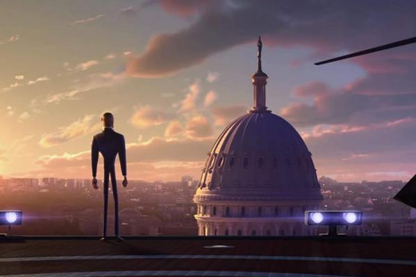 Кадр фильма Камуфляж и шпионаж