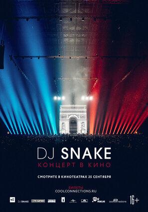 Постер фильма DJ Snake — Концерт в кино