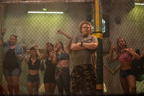 Кадр фильма В ринге только девушки
